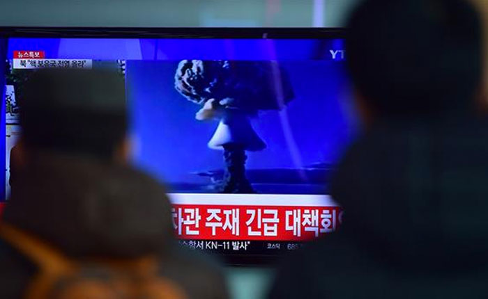 Seúl, Tokio y Washington en contra de Corea del Norte