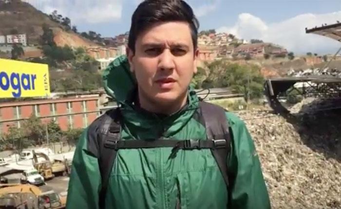 Jesús Armas: Mala gerencia de Jorge Rodríguez tiene a Caracas llena de basura