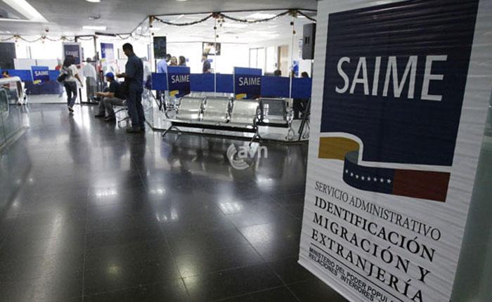 Saime lanza visa electrónica para extranjeros en Venezuela