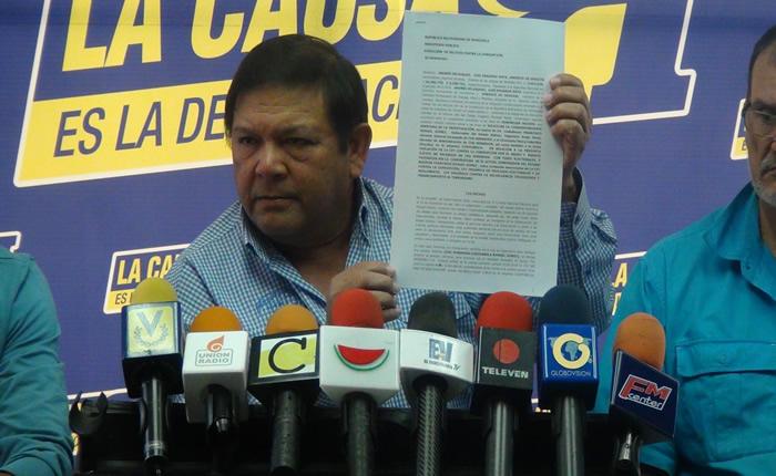 Andrés Velásquez insiste en que hubo fraude en Bolívar: Los delincuentes electorales llegaron al extremo de inventarse votos