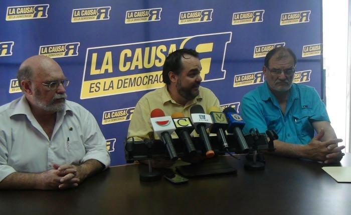 Causa R pide llamar a elecciones regionales y a que se apruebe rápidamente la enmienda constitucional