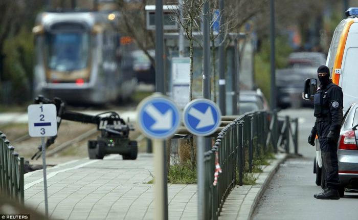 Un sospechoso fue herido y detenido en la operación en el barrio de Schaerbeek de Bruselas