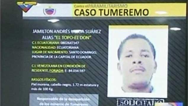 "Ministerio Público ordenó capturar a ""El Topo"" por masacre de Tumeremo"