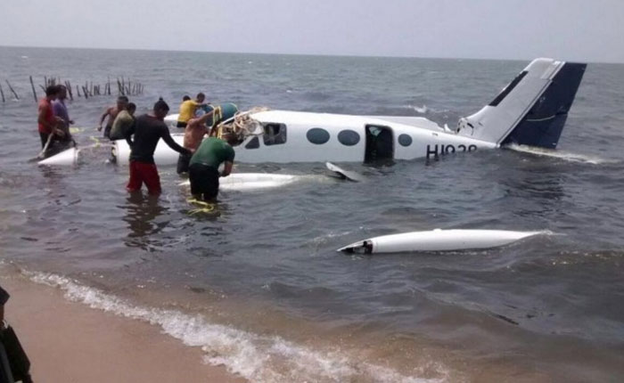 Avioneta que cayó en Zulia tendría vínculos con droga en Dominicana