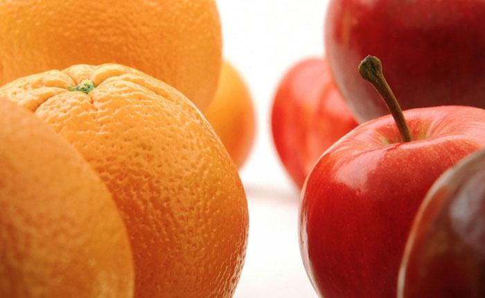 El consumo diario de manzanas o naranjas reduce el riesgo de infarto