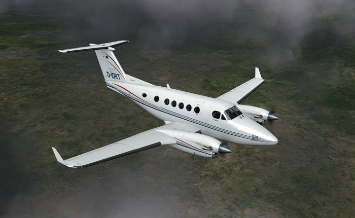 B200 King Air (foto referencial)