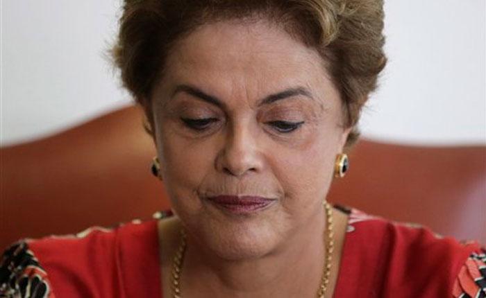 Fiscalía de Brasil pide juicio político contra Dilma Rousseff