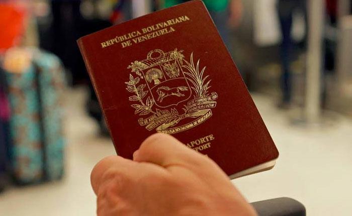 Gobierno anula pasaportes como mecanismo de prohibición de salida del país