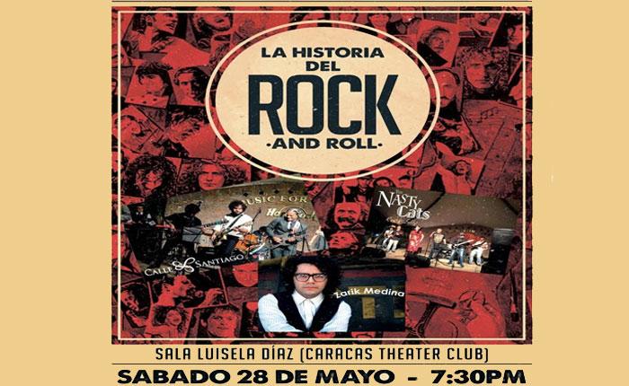 Tributo a La Historia del Rock eclipsará Caracas el 28 de mayo