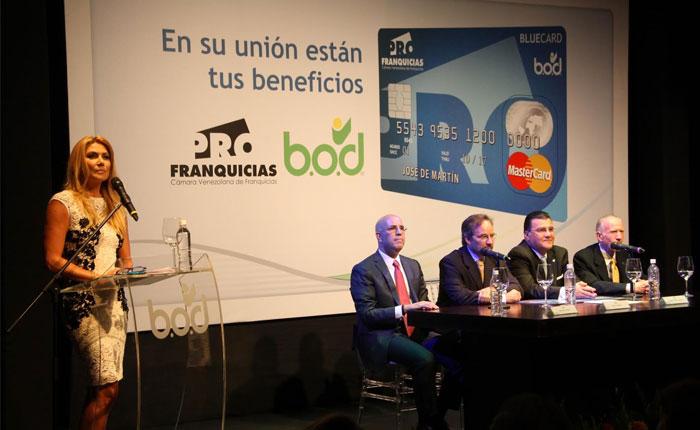 BOD y Profranquicias lanzan la primera tarjeta de crédito de marca compartida, BlueCard
