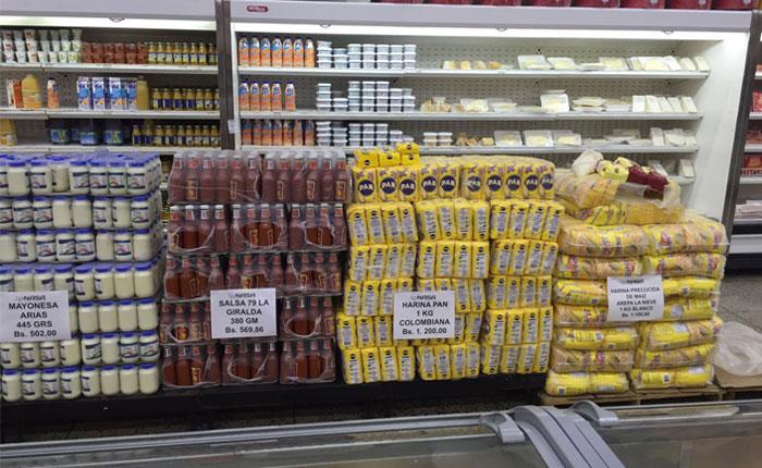 Productos colombianos llegan a los anaqueles de Zulia a pesar del cierre de la frontera