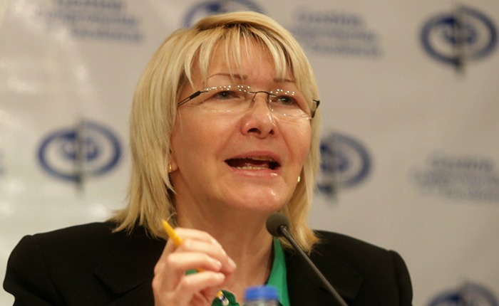 Fiscal General de Venezuela critica al régimen que ella representa