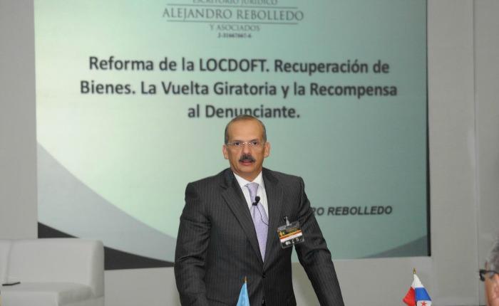 """Alejandro Rebolledo: """"Si no recuperamos los bienes tendremos delincuentes presos y millonarios"""""""
