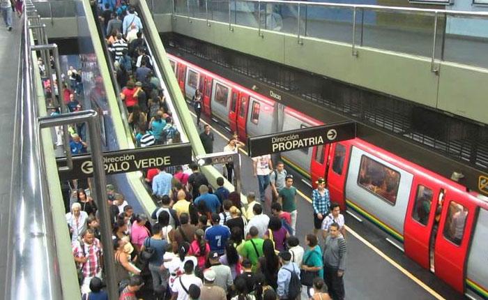 La historia de siempre, Caracas este miércoles nuevamente sin Metro