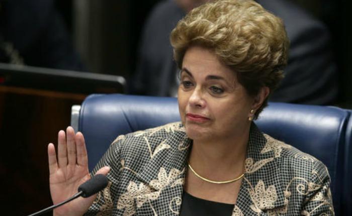 Dilma Rousseff se defiende en su juicio político en el Senado
