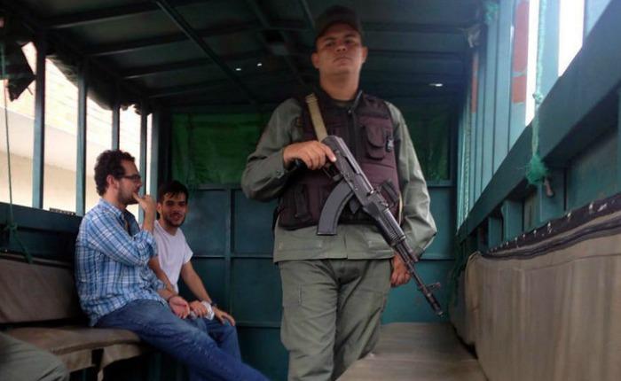 """Trasladaron a """"Pancho"""" y """"Gabo"""" a cárcel de Tocuyito"""