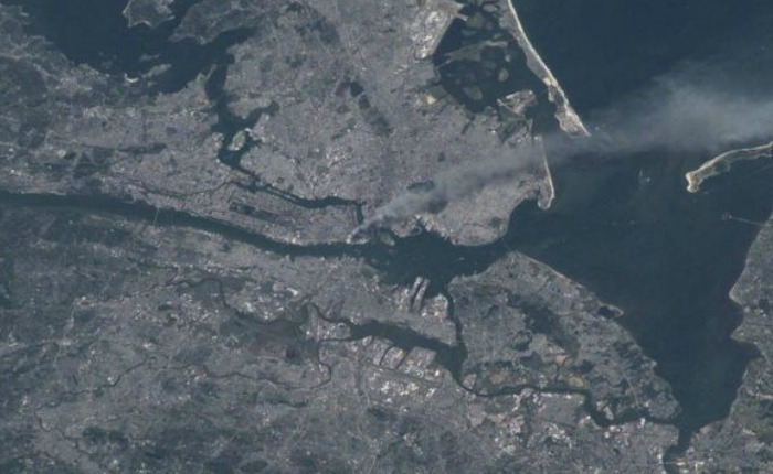 Estados Unidos: cómo se vio desde el espacio el ataque a las Torres Gemelas del 11 de septiembre