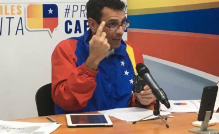 Contraloría abrió un nuevo procedimiento a Henrique Capriles