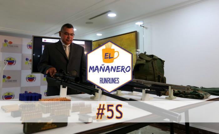 El Mañanero #5S: las 6 noticias que debes saber