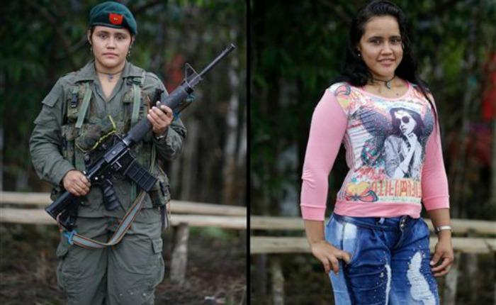 FOTOS Los rebeldes de Colombia se preparan para la paz