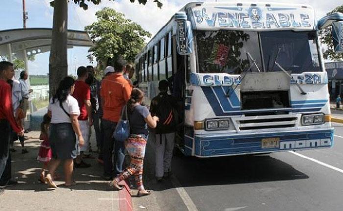 Pasaje mínimo en El Hatillo y Baruta será de Bs 700 a partir del lunes