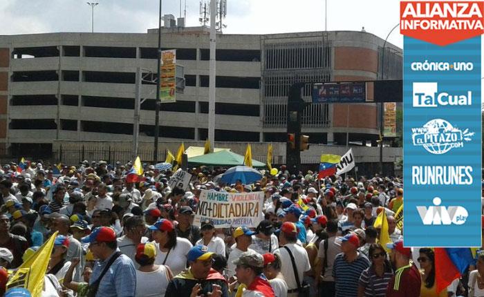 Líderes vecinales encabezan Toma de Venezuela