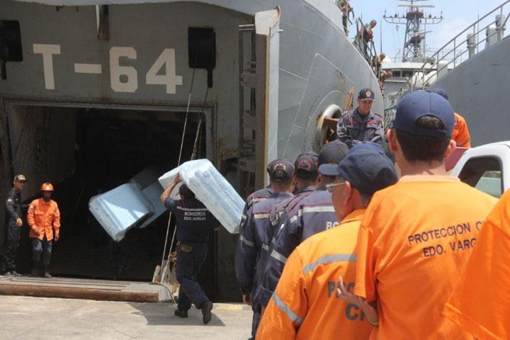 Venezuela envía tercer cargamento de ayuda humanitaria a Haití