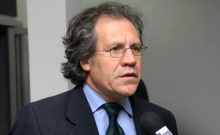 """Luis Almagro: """"Cuando se viola la Constitución, ¿qué base hay para un diálogo?"""""""
