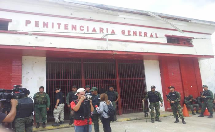 Catorce cadáveres han sido encontrados en Penitenciaria General de Venezuela