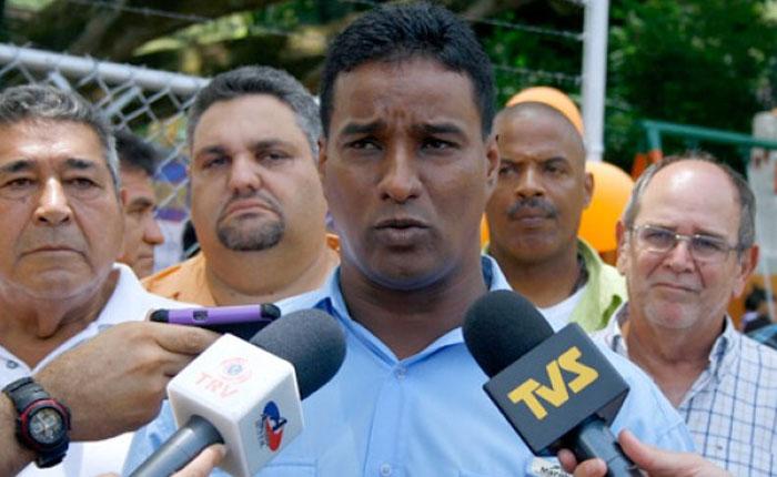 Trasladaron de emergencia a Delson Guarate al Hospital Militar