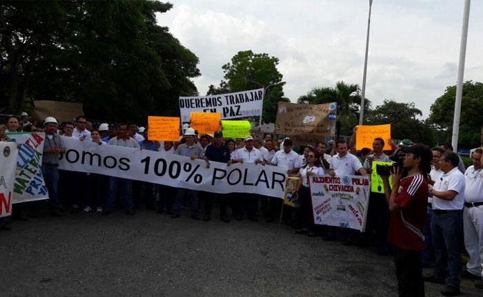 Trabajadores de Alimentos Polar piden al Gobierno respuesta inmediata para garantizar producción de harina de maíz