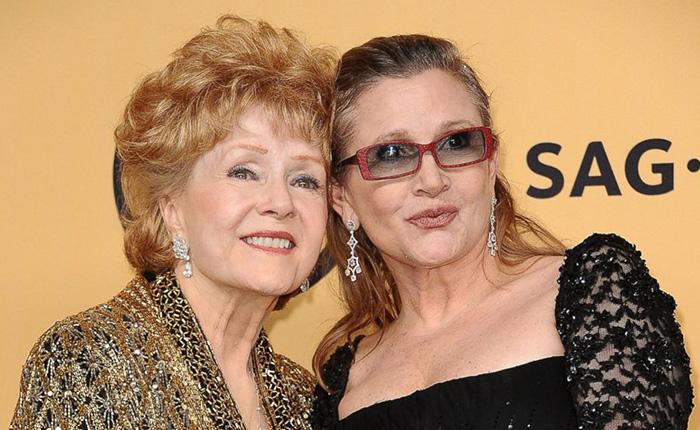 Muere a los 84 años la actriz Debbie Reynolds, madre de Carrie Fisher