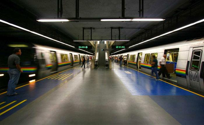 Metro de Caracas cierra 30 estaciones en resguardo al personal y a las instalaciones