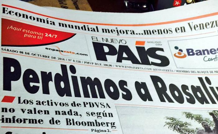 El Nuevo País circula como semanario desde este 23 de enero por crisis de papel