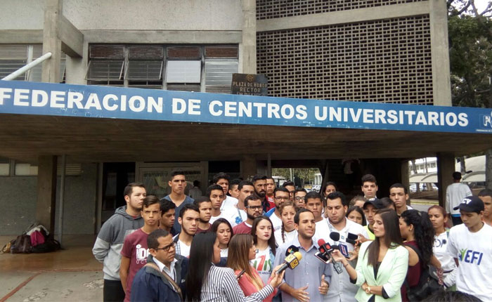 Estudiantes marcharán el #23Ene desde la Francisco de Miranda al CNE