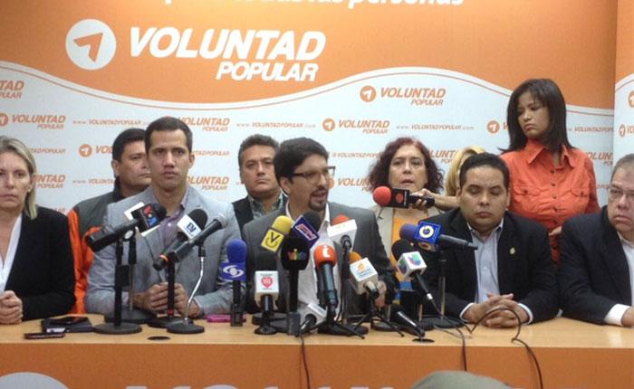 Voluntad Popular expulsará a sus integrantes que decidan participar en elecciones