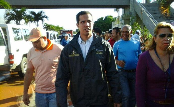"""Juan Guaidó: """"Le hablé de amnistía y reconciliación a los del Sebin y aquí estoy libre"""""""