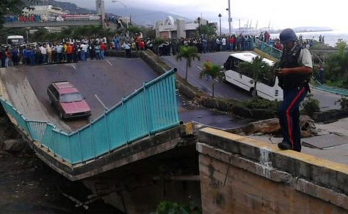 García Carneiro: Vía alterna al puente Guanape II tiene 60% de avance