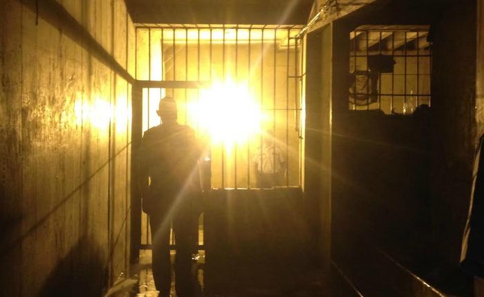 Sótano presos en Charallave