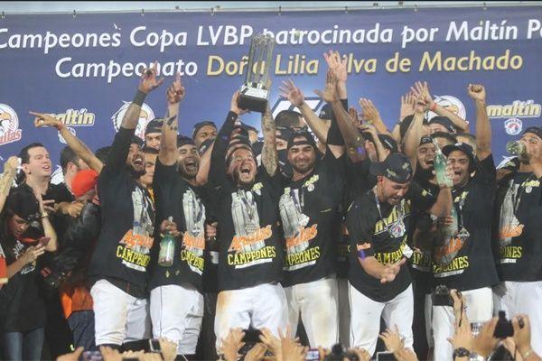 Después de 17 años, Águilas del Zulia son campeones de la LVBP 2016-2017