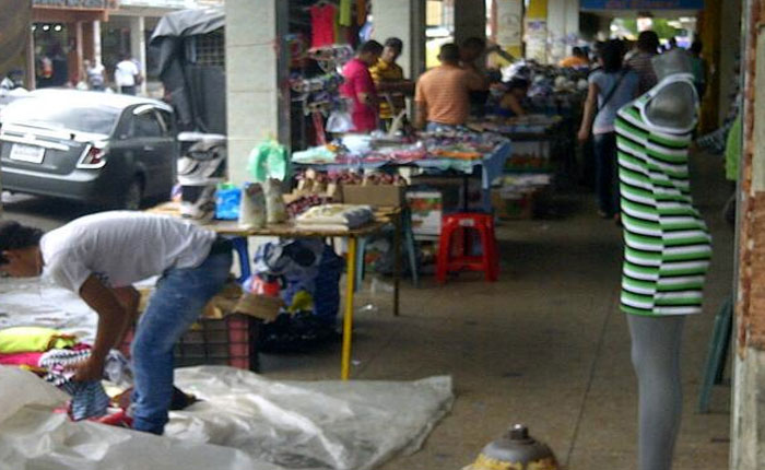 Disturbios en Carúpano afectaron principalmente a la economía informal