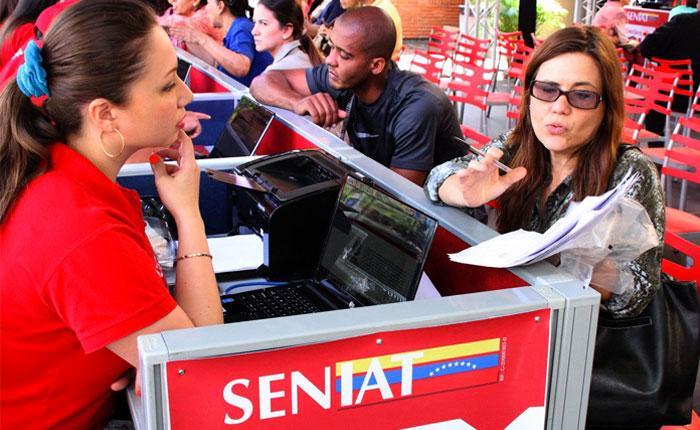 Seniat extendió horario para declaración del Islr