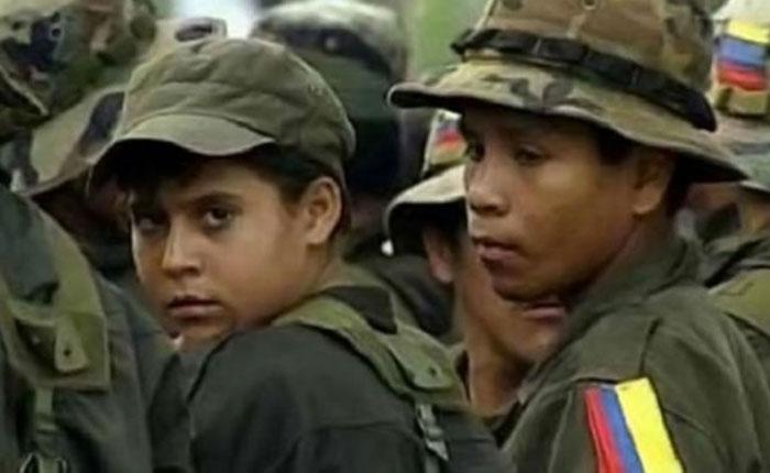 Inicia en Colombia salida de menores de zonas de concentración de FARC