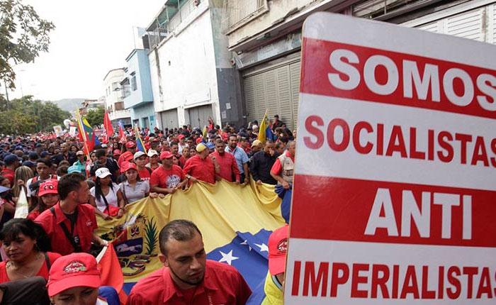 Oficialistas marcharon este martes en rechazo a acciones de la OEA