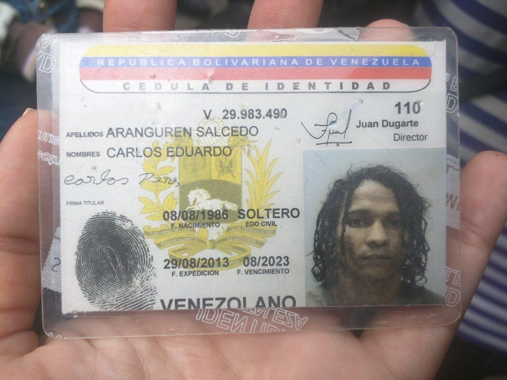 Carlos Eduardo Aranguren Salcedo