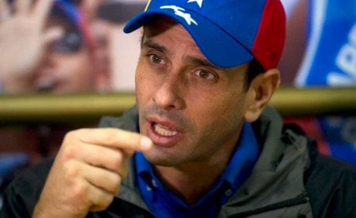 Capriles: Saben ahora para dónde vamos, no es un cargo, es un país, es Venezuela