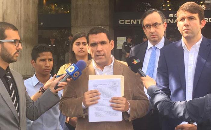 Diputado Matheus alerta al MP de posibles ataques a la Consulta Popular del #16Jul