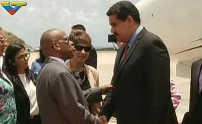 Maduro sale de Venezuela por segunda vez en menos de una semana