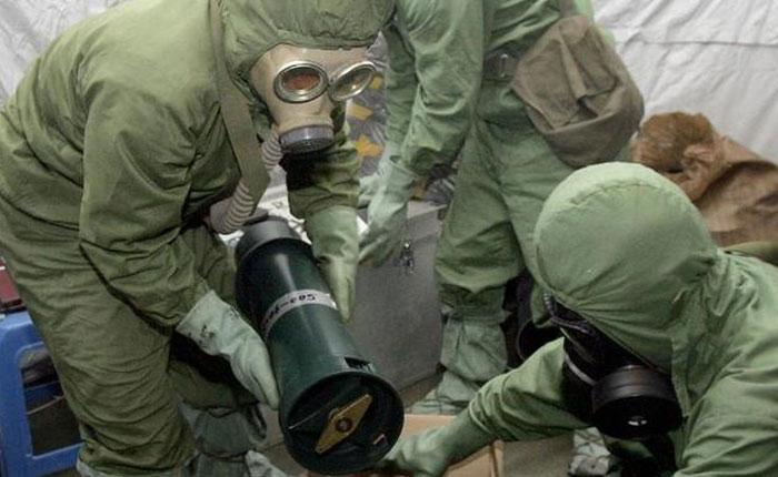 Armas químicas son el reflejo del odio