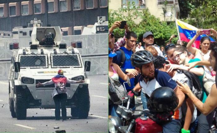 Un muerto, 20 detenidos y más de 60 heridos: el saldo del Plan Zamora en Caracas